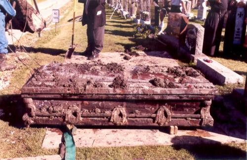 Enshrinement of the relics of Bl. Vasyl, September 2002