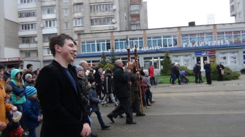 The Way of the Cross Novoyavorivsk, Ukraine April 10, 2016