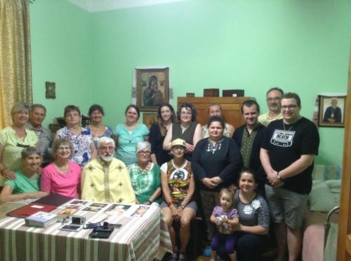 Divine Liturgy in Blessed Vasyl's apartment