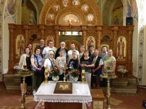 in Holy Trinity Greek Catholic church in Kamianetz Podilsk