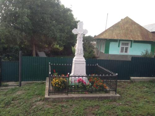 Commonly seen crosses along village road