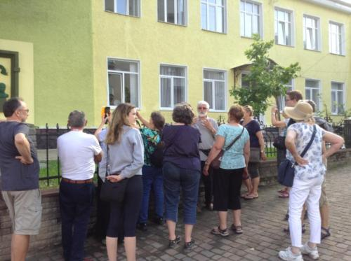 The school where Bl. Vasyl attended in Horodenko