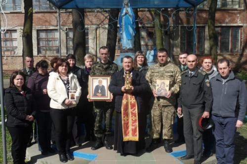 Blessed Vasyl Presentation in Prison #48 Lviv, Ukraine April 16, 2016
