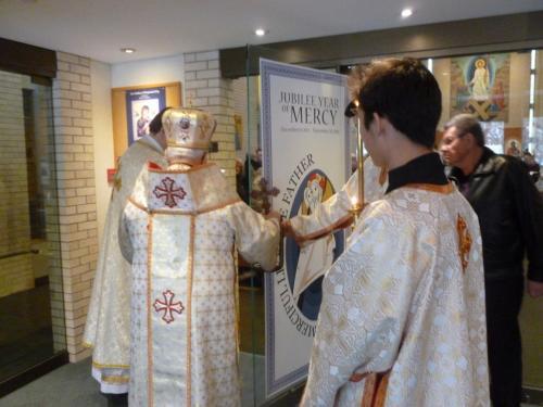Opening of Jubilee Holy Door Dec 20, 2015