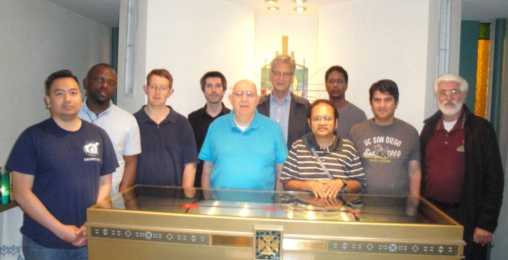 Redemptorist Novices from Toronto June 2015