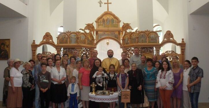 Blessed Vasyl Presentation in Chernihiv, Ukraine June 5, 2016