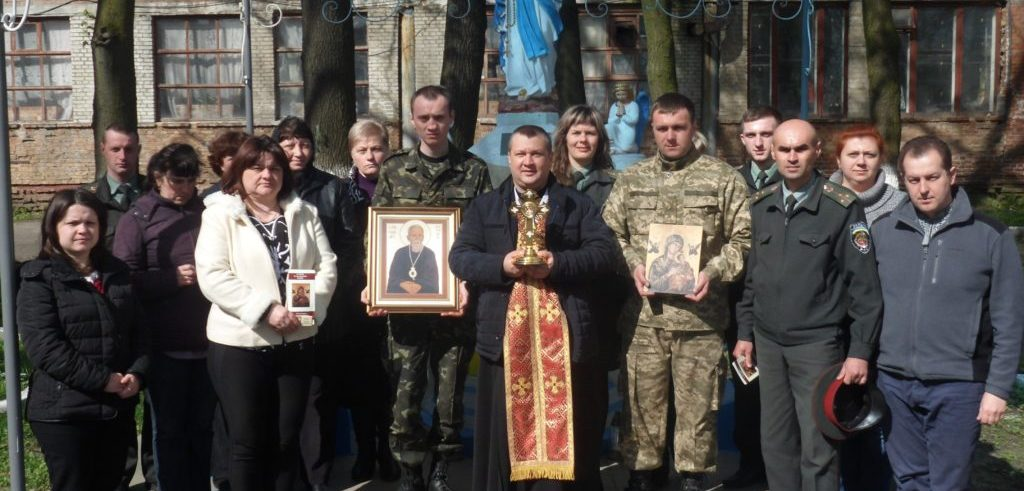 Blessed Vasyl Presentation in Prison #48 Lviv Ukraine April 16, 2016