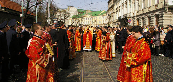 A Historical Event Takes Place on April 3rd, 2016 in Lviv Ukraine