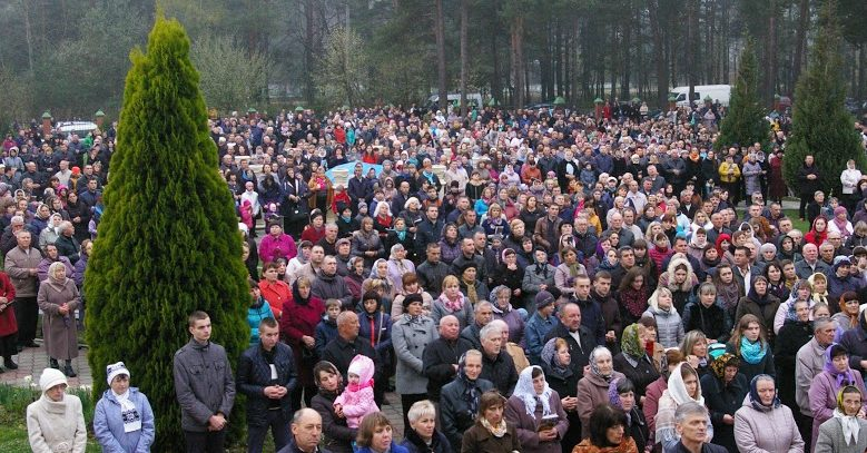 The Way of the Cross in Ukraine Novoyavorivsk, Apr 10, 2016