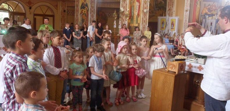 Blessed Vasyl Presentation in Yaremche, Ukraine June 19, 2016