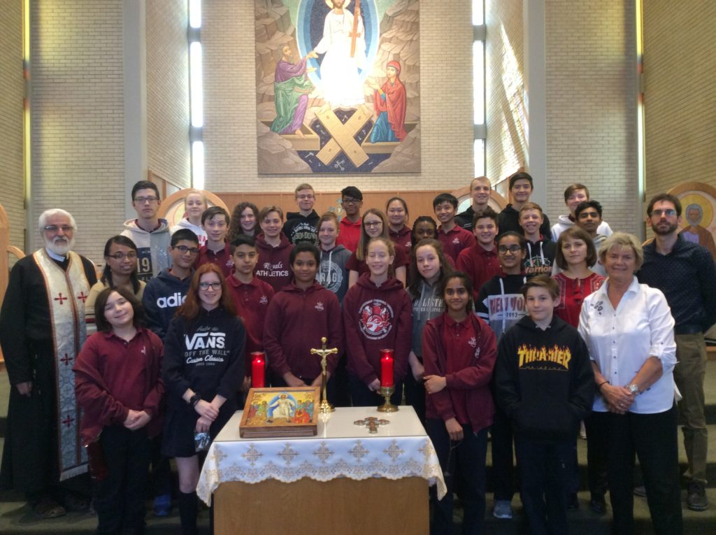Christ the King Catholic School Visit, April 17, 2018