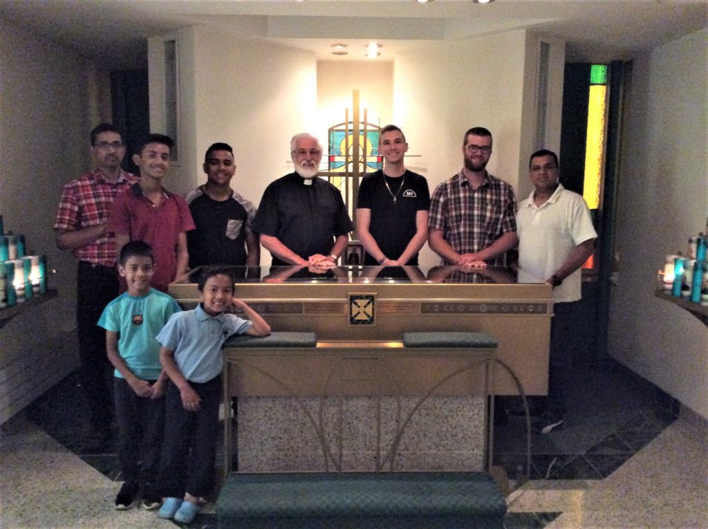Jesus Youth From Toronto Visit Shrine, June 19, 2018
