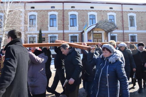 18.03.25 Chortkiv. The Way of the Cross