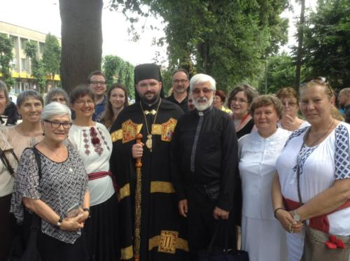 Pilgrims attend Bishop Peter Loza CSsR ordination