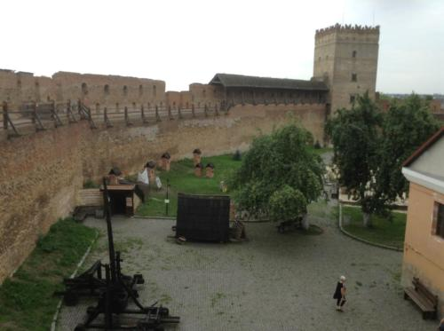 Lubart's Castle in Lutsk where one of our pilgrims ancestors are from