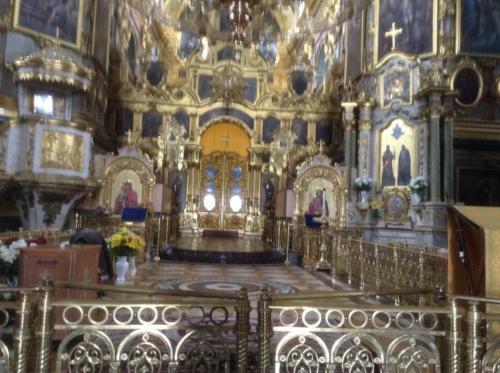 Ancient Basilian monastery in Pochaiv