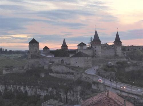 Castle in Kamianetz Podilski, through where Bl. Vasyl escapes from authorities