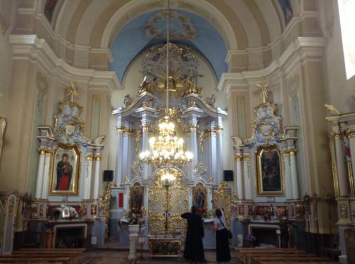 The church where Bl. Vasyl attended in Horodenko