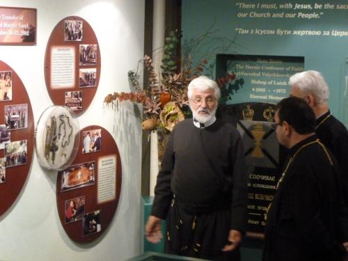 Synod of Bishops visit Museum and the Shrine, September 8, 2012