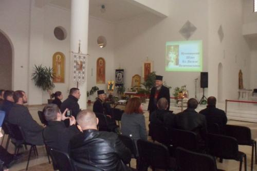 Presentation for Prison Chaplains in Kyiv Nov 10, 2015