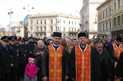 The Way of the Cross Lviv, Ukraine April 3, 2016