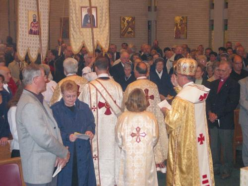 Enshrinement of the relics of Bl. Vasyl, September 2002